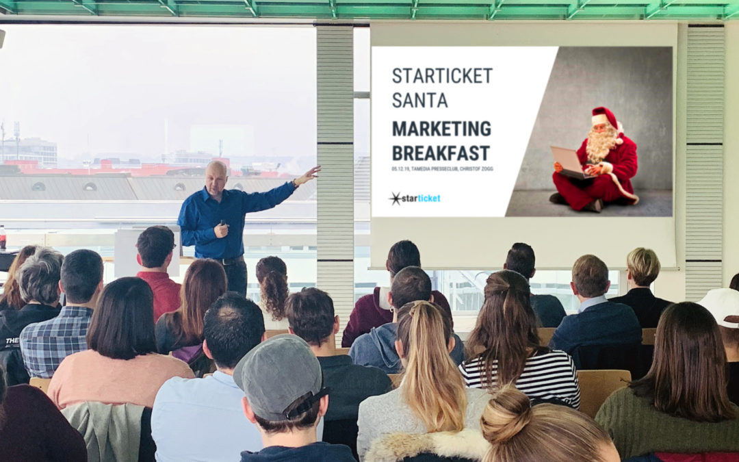 Kundenanlass – Starticket Santa Marketing Breakfast