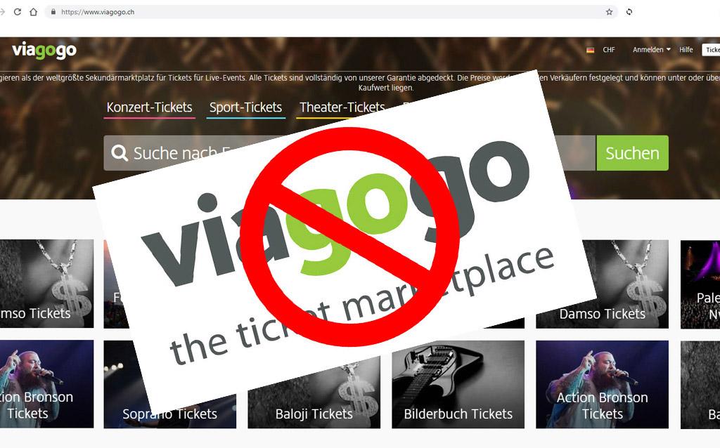 Google nimmt Viagogo weltweit die Werbung weg!